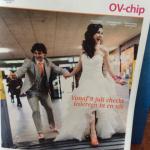 Haar en make-up verzorgd van bruid op de cover van NS Magazine