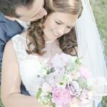 Bruid: Mirjam Haar en make-up: Irene van der Hart